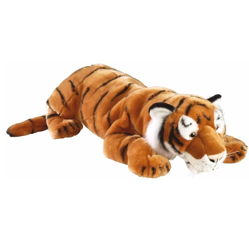 Pluche knuffel tijger knuffel 76 cm