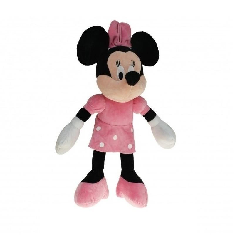 Cartoon knuffels Disney Pluche Minnie Mouse knuffel 50 cm