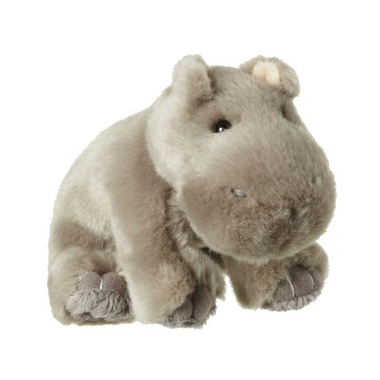 Pluche nijlpaard knuffel 12 cm