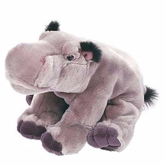 Pluche nijlpaard knuffel 30 cm