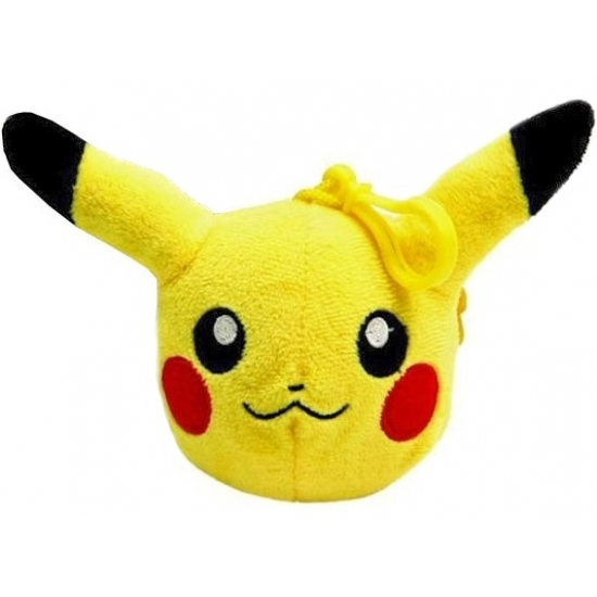 Pluche Pikachu portemonnee 12 cm
