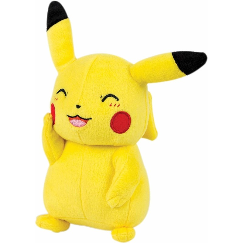 Pluche Pokemon Pikachu knuffel 23 cm speelgoed