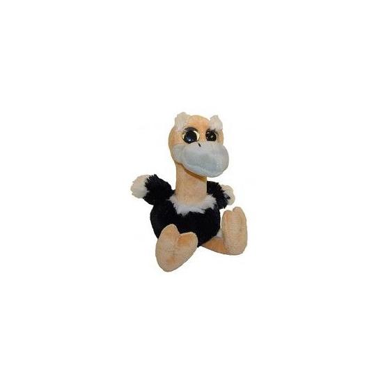 Pluche struisvogel knuffel 18 cm