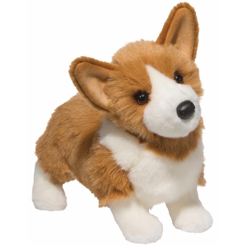 Pluche welsh corgi hond knuffel 41 cm