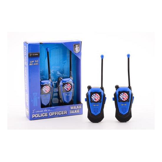 Politie walkie talkie voor kinderen