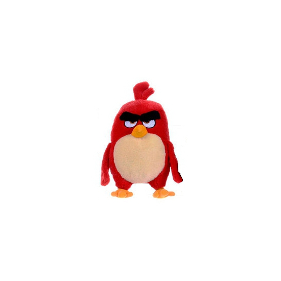 Rode pluche Angry Birds Red knuffel 22 cm