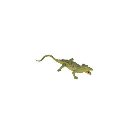 Rubberen gaviaal krokodil 33 cm