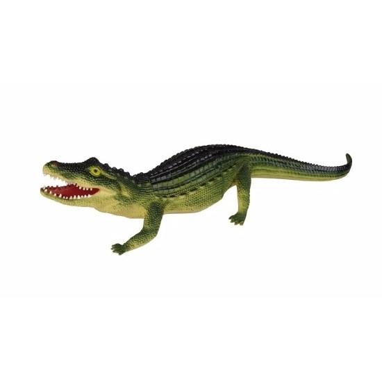 Rubberen krokodil 60 cm