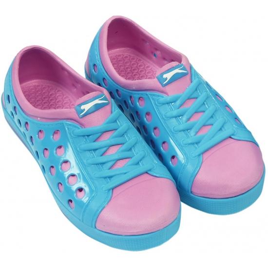 Slazenger waterschoenen voor meisjes blauw-roze