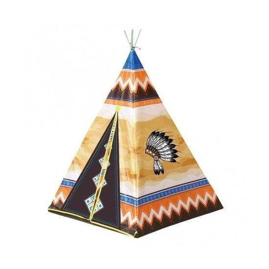 Speelgoed indianen wigwam tipi tent 130 cm