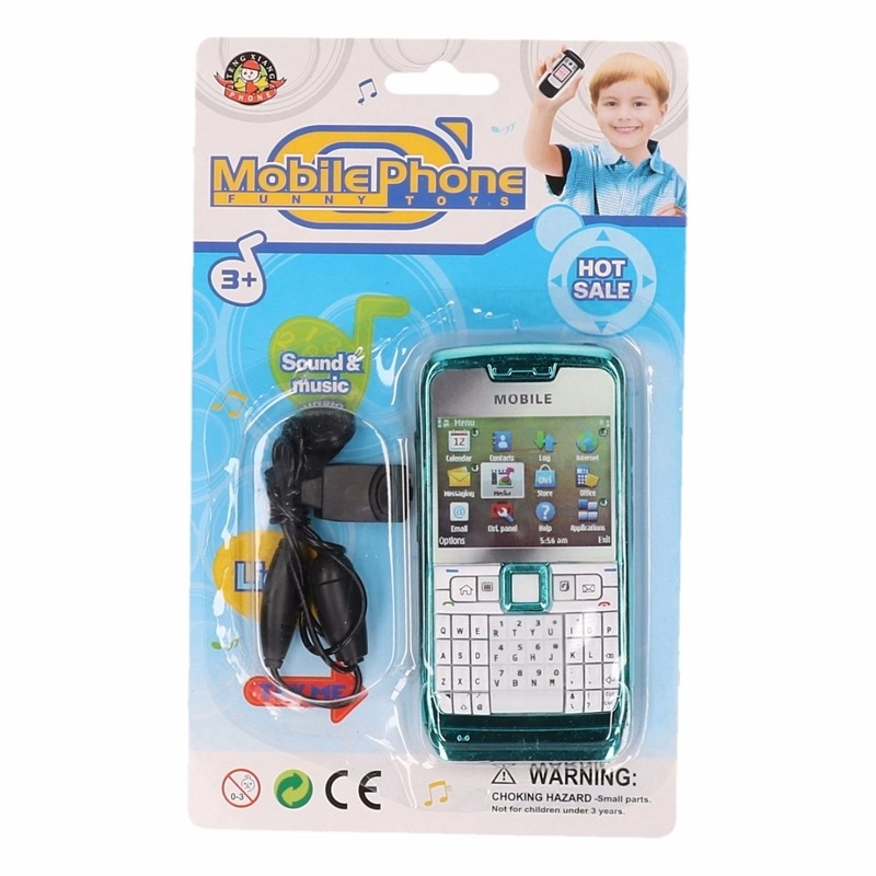 Speelgoed smartphone blauw