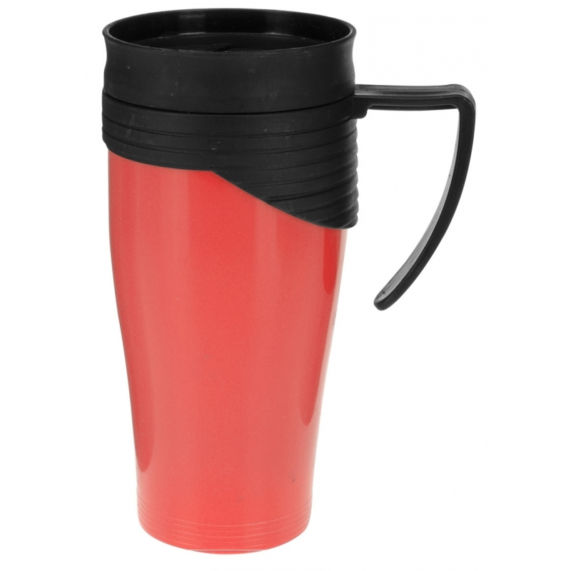 Thermosbeker rood 420 ml