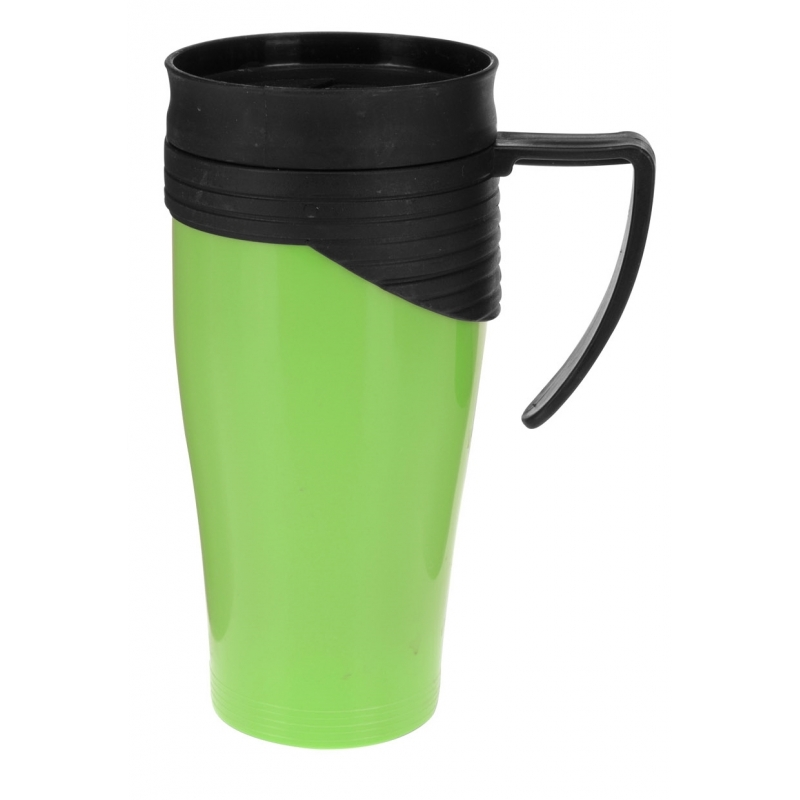 Thermosbeker-warm houd beker groen 420 ml