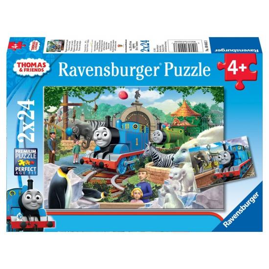 Thomas de trein puzzels 2 stuks