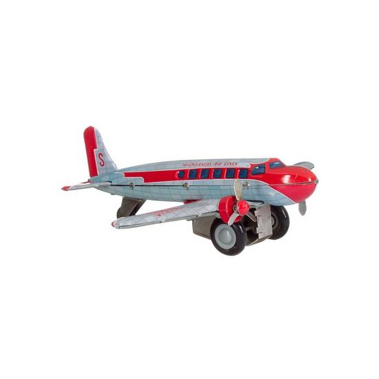 Vliegtuigje DC 3 25 cm