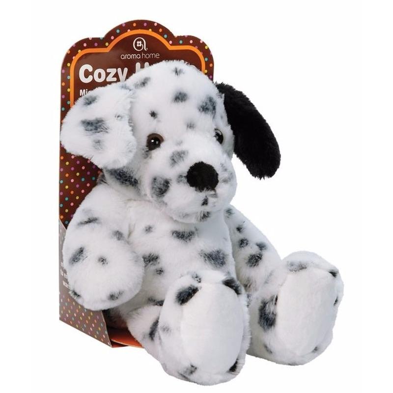Warmte knuffel dalmati?r hond met lavendel olie