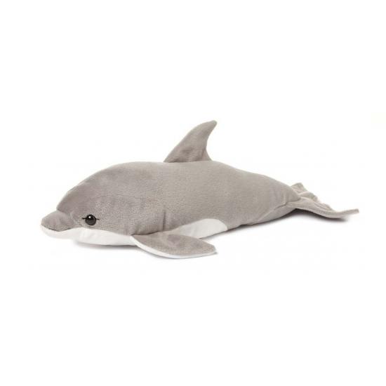 WNF pluche dolfijn knuffel grijs 40 cm