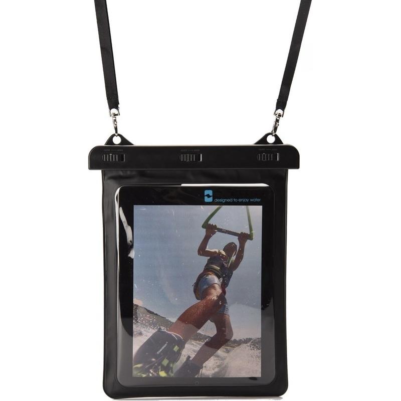Zwarte waterproof hoes voor 8 inch tablets