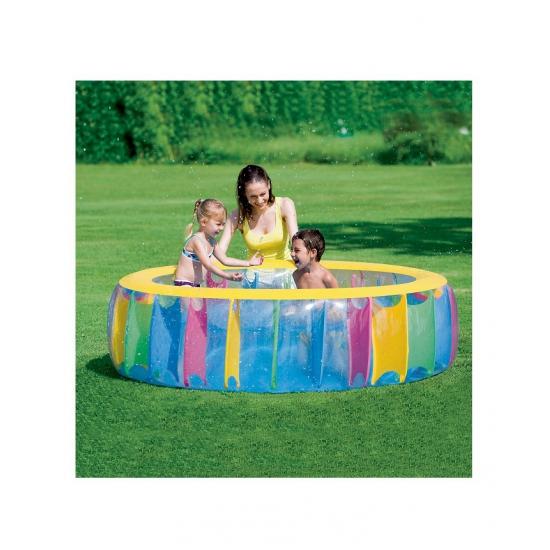 Zwembad rond multicolor 183 cm