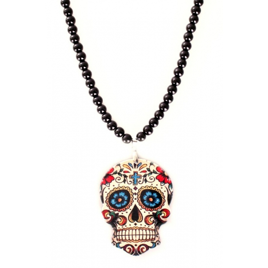 Parelketting sugar skull