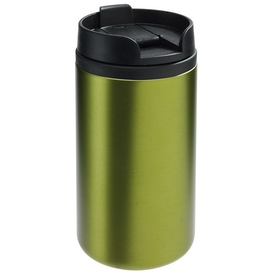 Thermosbeker-warmhoudbeker metallic groen 290 ml